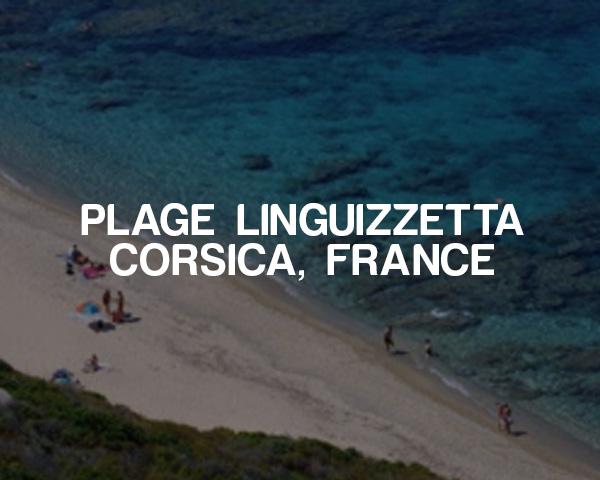 Plage Linguizzetta –Corsica, France